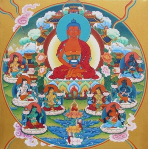 Pure Lands of Buddhas
