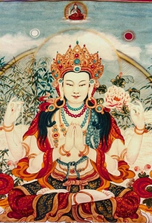 Chenrezig - our compassionate friend!