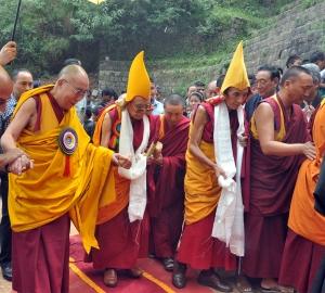 Gelug Monks 'Yellow Hats'
