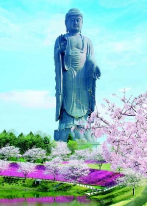 Amida Buddha statue, Japan