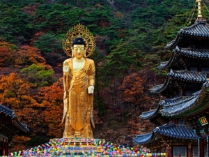 Buddha statue in South Korea