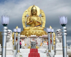 Buddha in Amarbayasgalant Monastery