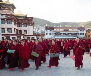 Tibetan Mūlasarvāstivāda Monks