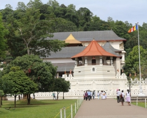 Temple of Tooth relic, Sri Lanka