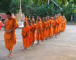 Thai Novice Monks
