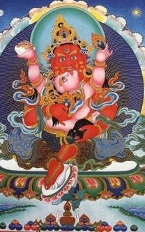 Who is Red Zambala in Buddhism