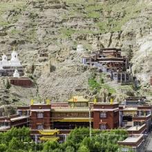 Sakya Monastery in Ponpori Hills
