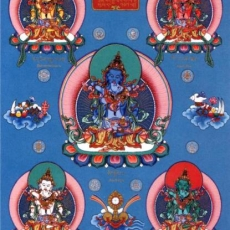 Sambhogakaya - 5 Wisdoms and Buddha families