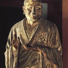 Asanga statue