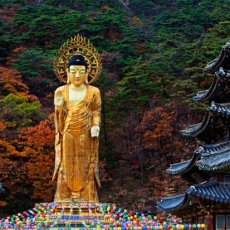 Buddha statue in South Korea
