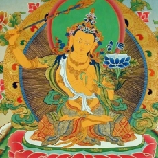 Manjushri - the Prince of Wisdom