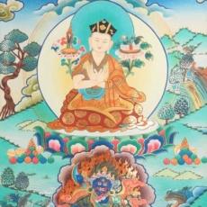 Origin of mantra Karmapa Chenno