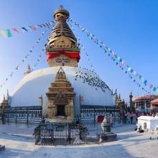 Svayambhu Stupa, Nepal